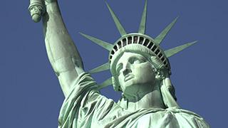アメリカ/ニューヨーク/リバティ島/自由の女神像