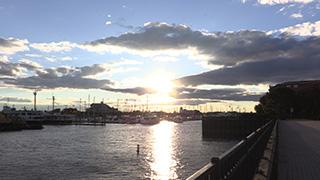 アメリカ/ジャージーシティ/モリス運河