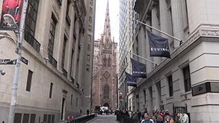 アメリカ/ニューヨーク/マンハッタン/ウォール街