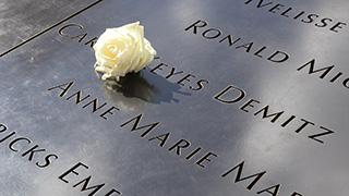 アメリカ/ニューヨーク/マンハッタン/9.11メモリアルパーク