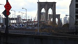 アメリカ/ニューヨーク/マンハッタン/ブルックリン・ブリッジ