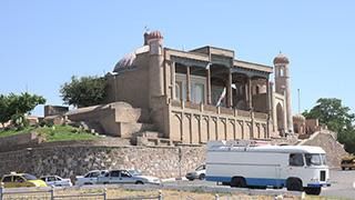 ウズベキスタン/サマルカンド/ハズラティ・ヒズル・モスク