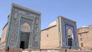 ウズベキスタン/サマルカンド/シャーヒズィンダ廟群