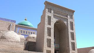 ウズベキスタン/ヒヴァ/イチャン・カラ/パフラヴァン・マフムド廟