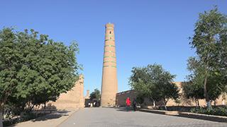 ウズベキスタン/ヒヴァ/イチャン・カラ/ジュマモスク