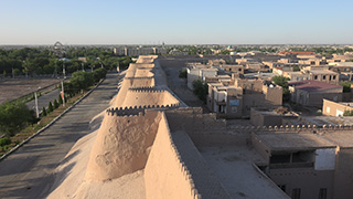 ウズベキスタン/ヒヴァ/イチャン・カラ