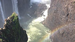 ジンバブエ/ビクトリアの滝